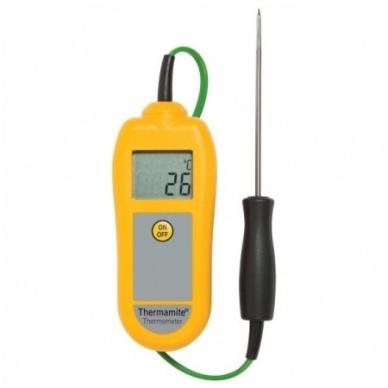 Termometras ETI Food Check maistui su zondu (su 0.1 °C rezoliucija) 5