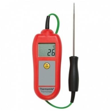 Termometras ETI Food Check maistui su zondu (su 0.1 °C rezoliucija) 6