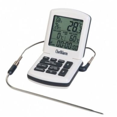 Termometras ChefAlarm skirtas kepiniams su laikmačiu ETI 810-041 2