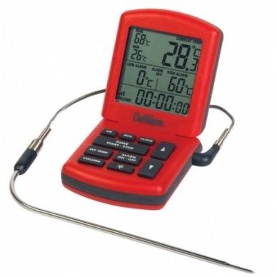 Termometras ChefAlarm skirtas kepiniams su laikmačiu ETI 810-041 4