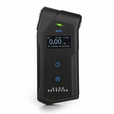 Profesionalus alkotesteris Alcodetector S100