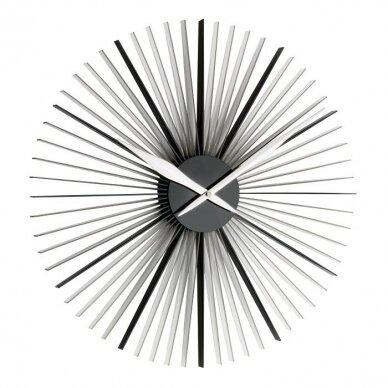Analoginis XXL dydžio sieninis laikrodis TFA DAISY