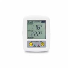 Ekstremalios temperatūros (matavimo diapozonas nuo -100 iki 1372 °C) matavimams skirtas daugkartinis registratorius ThermaData TD2TC su aliarmu ir WiFi ETI 298-121