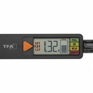 Baterijų tikrintuvas TFA BatteryCheck 3