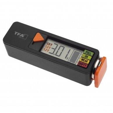 Baterijų tikrintuvas TFA BatteryCheck 2