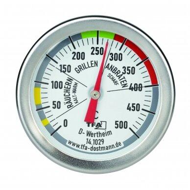 BBQ kepsninės kepimo kameros termometras TFA 14-1029 2