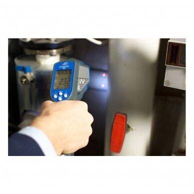 Bekontaktis Infraraudonųjų spindulių termometras SU METROLOGINE PATIKRA TFA SCANTEMP 490 (nuo -60°C iki +1000°C) 2