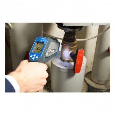 Bekontaktis Infraraudonųjų spindulių termometras SU METROLOGINE PATIKRA TFA SCANTEMP 490 (nuo -60°C iki +1000°C) 4