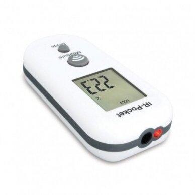 Bekontaktis IR termometras IR-Pocket ETI su METROLOGINE PATIKRA 814-060 (nuo -9.9°C iki 199.9°C) 3