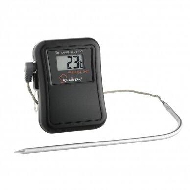 Belaidis grilio-orkaitės termometras su zondu TFA KÜCHEN-CHEF 2
