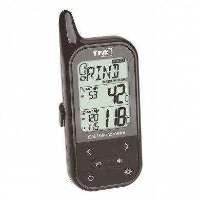 Belaidis grilio-orkaitės termometras su dvejais zondais TFA KÜCHEN-CHEF TWIN 2