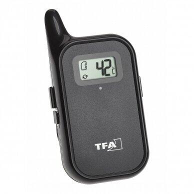 Belaidis grilio-orkaitės termometras su dvejais zondais TFA KÜCHEN-CHEF TWIN 3