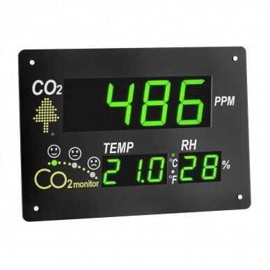 CO2 matuoklis AIRCO2NTROL OBSERVER TFA su dideliu ekranu
