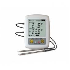 Daugkartinis temperatūros registratorius ThermaData TD2F su dviem išoriniais sensoriais, max/min funkcija, aliarmu ir WiFi ETI 298-111