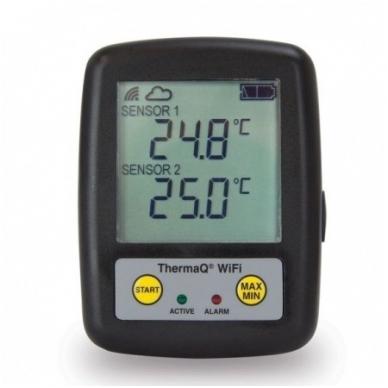 Daugkartinis temperatūros registratorius ETI ThermaQ su WiFi skirtas krosnims, kepsninėms ir griliams 299-121