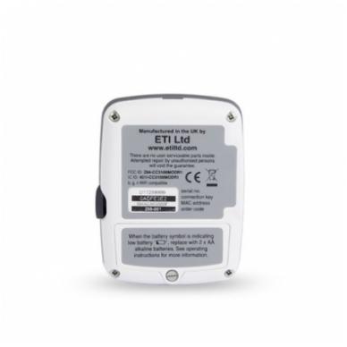 Daugkartinis temperatūros registratorius ThermaData TD su vienu vidiniu sensoriumi, max/min funkcija, aliarmu ir WiFi ETI 298-001 2
