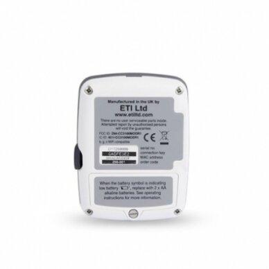Daugkartinis temperatūros registratorius ThermaData TD su vienu vidiniu sensoriumi, max/min funkcija, aliarmu ir WiFi su METROLOGINE PATIKRA ETI 298-001 2
