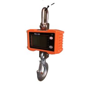 Elektroninės kraninės svarstyklės OCS-S iki 1000 kg svorio. Padalos vertė: 0,5 kg