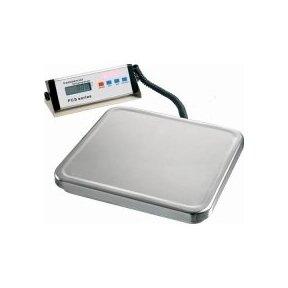 Elektroninės platforminės svarstyklės FCS-4035-150 iki 150kg svorio. Padalos vertė: 50 g. Platformos matmenys: 400x350 mm