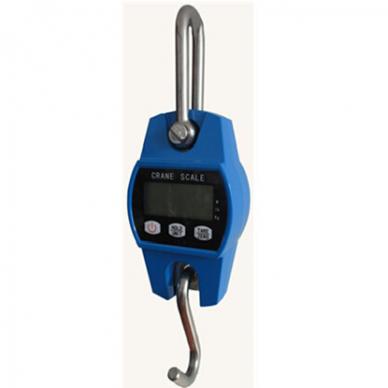 Elektroninės kraninės svarstyklės YB-720 iki 300 kg svorio. Padalos vertė: 0,1 kg