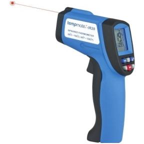 Infraraudonųjų spindulių termometras Tempmate IR-20