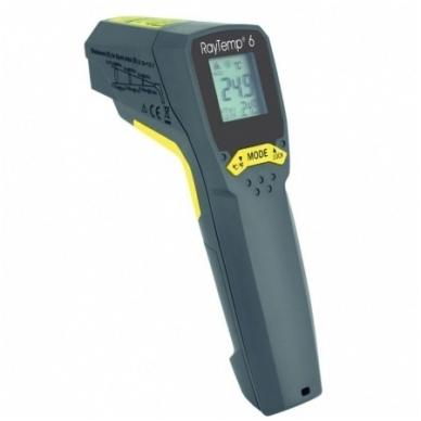 Infraraudonųjų spindulių termometras ETI RayTemp 6 (nuo -60°C iki 550°C)