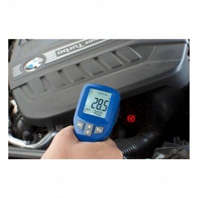 Infraraudonųjų spindulių termometras TFA CIRCLE-BEAM (nuo -30°C iki +950°C) 2