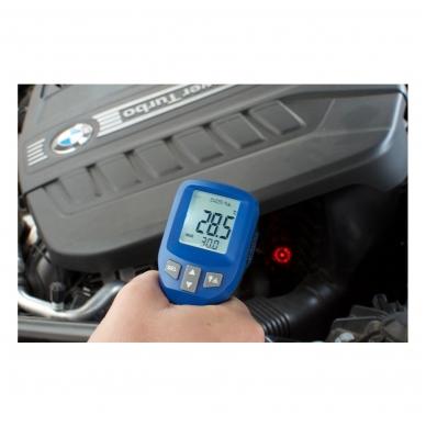 Infraraudonųjų spindulių termometras SU METROLOGINE PATIKRA TFA CIRCLE-BEAM (nuo -30°C iki +950°C) 2
