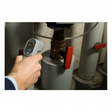 Infraraudonųjų spindulių termometras TFA SCANTEMP 410 (nuo -60°C iki +1000°C) 5