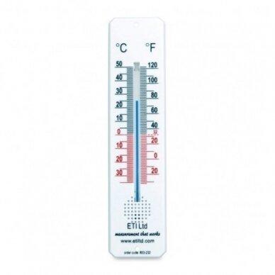 Kambario termometras su spiritiniu užpildu ETI 803-232