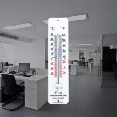Kambario termometras su spiritiniu užpildu ETI 803-232 2