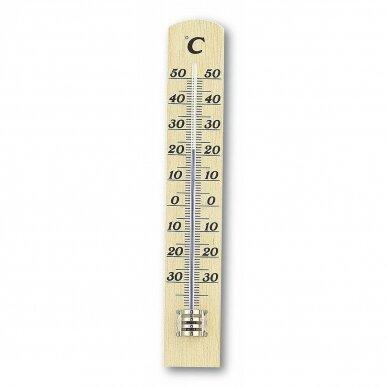 Medinis vidaus-lauko termometras TFA 12-1003-05
