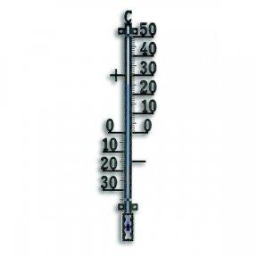 Metalinis lauko termometras TFA 12-5002 (juodas)