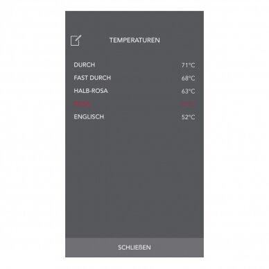 Termometras skirtas matuoti maisto temperatūrą su išmaniuoju telefonu TFA Thermowire 14-1505-01 6