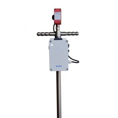 Nešiojama deguonies (O2) koncentracijos matavimo sistema kompostui COMPOST 2
