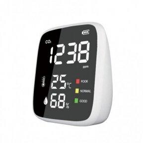 Oro kokybės matuoklis (CO2, temperatūra, drėgmė) E2250