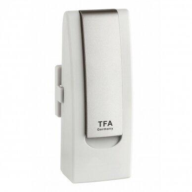 Klimato stebėjimo sistema su lietaus ir vėjo matuokliu TFA WEATHERHUB 6