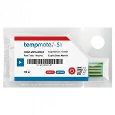 Pristatymas per 1-2 d.d. | Vienkartinis temperatūros registratorius TEMPMATE S1 V2 USB su gamintojo kalibravimo sertifikatu galiojančiu 2 metus nuo kalibravimo datos