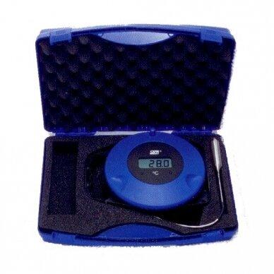 Pramoninis termometras CargoTemp Roller, skirtas biriems ir skystiems produktams, su itin ilgu zondu (10 m) 3