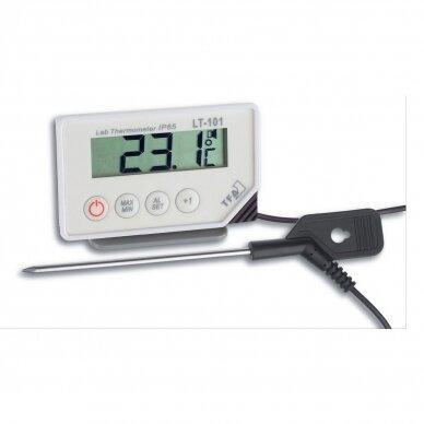 Profesionalus termometras su zondu (160 cm kabelio ilgis) SU METROLOGINE PATIKRA TFA 30-1033