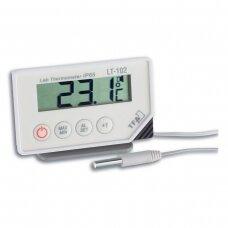 Profesionalus šaldytuvo - šaldiklio termometras su 30 cm zondu, aliarmu ir max/min funkcija SU METROLOGINE PATIKRA TFA 30-1034