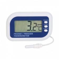 Šaldytuvo - šaldiklio termometras su metrologine patikra, aliarmu ir max/min funkcija ETI 810-225