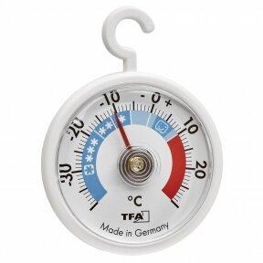 Šaldytuvo - šaldiklio termometras SU METROLOGINE PATIKRA TFA 14-4005