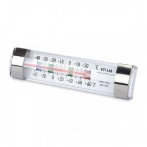 Pristatymas 1-2 d.d.! Šaldytuvo - šaldiklio termometras ETI 803-925 su METROLOGINE PATIKRA