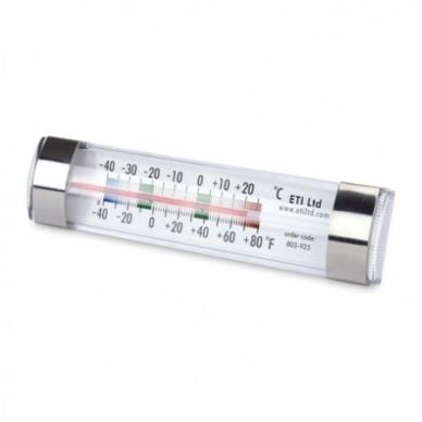 Pristatymas 1-2 d.d.! Šaldytuvo - šaldiklio termometras su METROLOGINE PATIKRA ETI 803-925