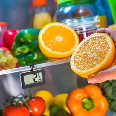 Skaitmeninis pakabinamas šaldytuvo termometras TFA 30-2028-01 6