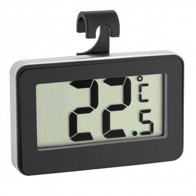Skaitmeninis pakabinamas šaldytuvo termometras TFA 30-2028-01 2