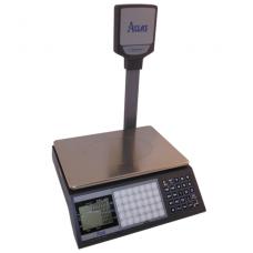 Sertifikuotos belaidės elektroninės svarstyklės su metrologine patikra, ACLAS PS1DP iki  30 kg svorio. Padalos vertė: 10 g. Platformos matmenys: 330x230 mm