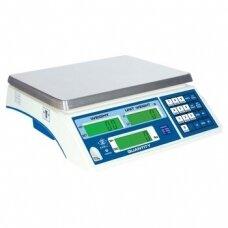 Sertifikuotos elektroninės vienetus skaičiuojančios svarstyklės su metrologine patikra FDH3-6 iki 6 kg svorio. Padalos vertė: 2 g (padidinto tikslumo režime 0,2g)