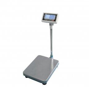 Sertifikuotos elektroninės platforminės svarstyklės su metrologine patikra TSCALE MS1 30 iki 30 kg svorio. Padalos vertė: 10 g. Platformos matmenys: 400x400 mm